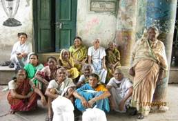 Beneficiaries of Kalighat